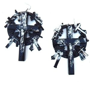 GASOLINE GLAMOUR JUDAS EARRINGS
